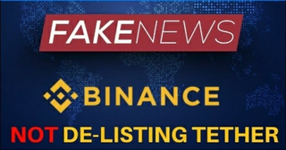 *FAKE NEWS* Binance NOT De-Listing Tether (USDT) - Today's Crypto News