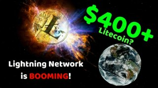$400+ Litecoin? Lightning Network is BOOMING! - Today's Crypto News