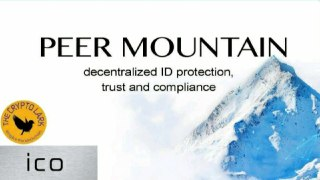 Peer Mountain ICO - Decentralizing Trust
