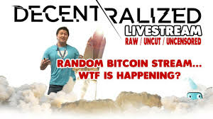 Is this BITCOIN to $15,000+ ??? - LIVESTREAM WTF