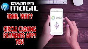 MCAFEE MAGIC is a BOT // CIRCLE Closing Payments App ... Who will fill the GAP?!