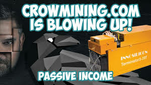 Passive Income With CrowMining.com - Bitcoin Mining For EVERYONE!