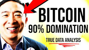 BITCOIN 90% REAL DOMINATION?!? 🛑 Andrew Yang, True Data Revealed, Money of the Internet, Altcoins