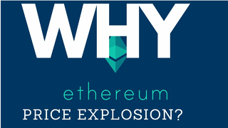 Why did Ethereum Explode in Price? $ETH Price Action | Cryptocurrency