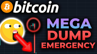 EMERGENCY VIDEO!!! BITCOIN MEGA DUMP OF 13% IN 5 MINUTES!!! IS THE BULL RUN OVER??