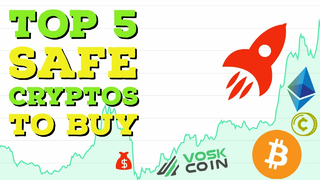 Top 5 SAFEST Cryptocurrencies to BUY right now! 💰