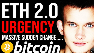URGENT!!! ETHEREUM 2.0 BIG CHANGE TODAY!! Shocking Turn... $500 ETH Very Soon and $20,000 BTC Target