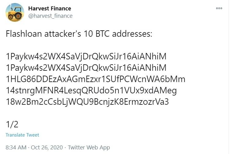Twitter aadresses