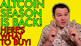 ALTCOIN SEASON IS BACK!!! HERE'S THE BEST CRYPTO TO BUY RIGHT NOW! [Big Gains Coming]