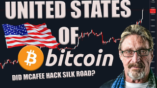 US SEIZES $1BN OF BITCOIN - IS MCAFEE INDIVIDUAL X? - $200K IN 12 MONTHS?