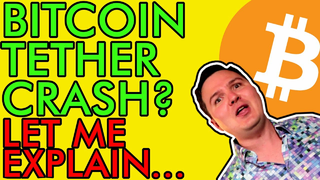 COULD BITCOIN CRASH DUE TO MASSIVE TETHER FRAUD!?!? HOLD ON, LET ME EXPLAIN