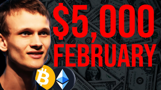 ETHEREUM GOING FOR ATH RIGHT NOW!!!! $5,000 In February...