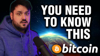 You Need To Know This About Bitcoin RIGHT NOW!